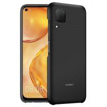 Huawei P40 Lite Gyári Tok Original Protective Case 51993929 Fekete