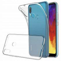 Huawei Y6 2019 Szilikon Tok TPU Áttetsző