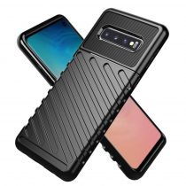Samsung Galaxy S10 Lite Ütésálló Tok Thunder Series Fekete