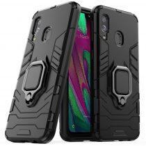 Ring Armor Tok Kickstand Tough Rugged Ütésálló Samsung Galaxy A40 black