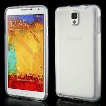 Samsung Galaxy Note 3 Szilikon Tok Áttetsző