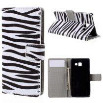 Samsung Galaxy A3 (2016) Flip Tok Notesz Mintás RMPACK Dream Series ( Zebra )