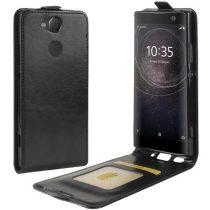 Sony Xperia XA2 Flip Tok Mágneses Fekete