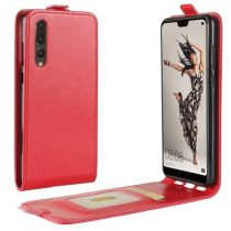 Huawei P20 Pro Flip Tok Mágneses Piros