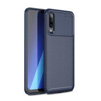 RMPACK Samsung Galaxy A50 A30S Tok Szilikon TPU Carbon Fiber - Karbon Minta Sötétkék