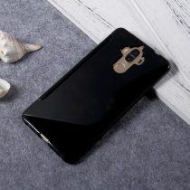 Huawei Mate 9 Szilikon Tok TPU S-Line Fekete